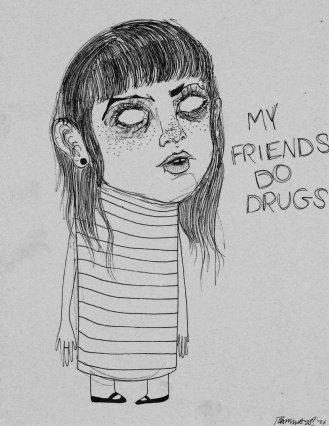 """My Friends Do Drugs"" (2011) featured in The Gambler Magazine (March 2014)"