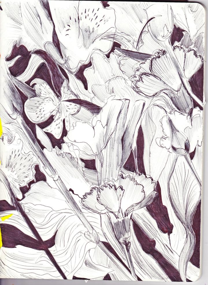 Floral Sketchbook - pg. 2