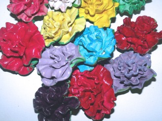 Carnation Paperweights 2013