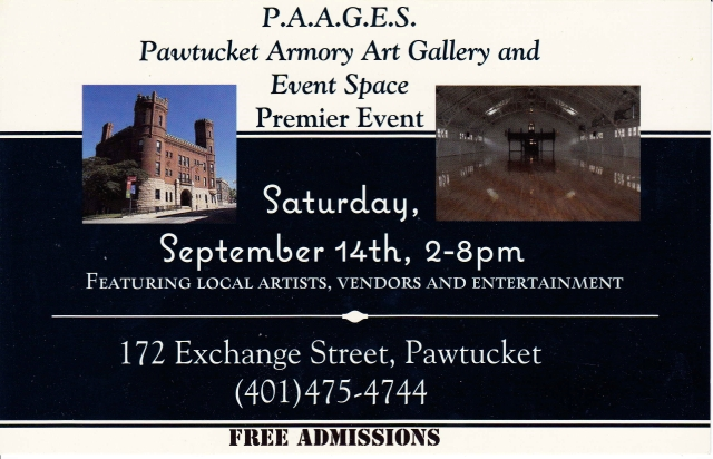 paages event september 14th flyer