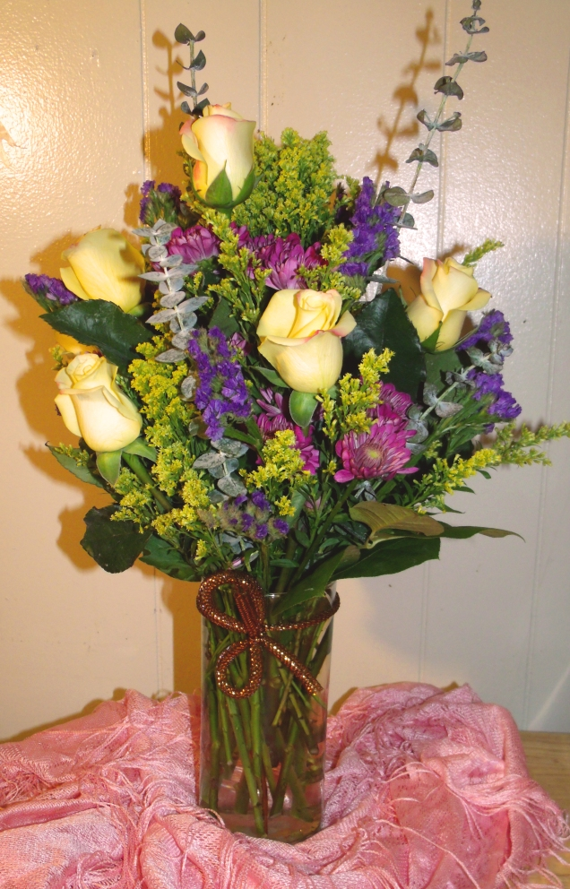 """Bright Garden"" Arrangement (November 2013)"