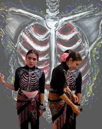 """""""Dapper Skeleton, Elegant Skull..."""" (2013)"""