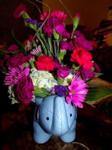 Mama's Birthday Elephant 2/19/2014