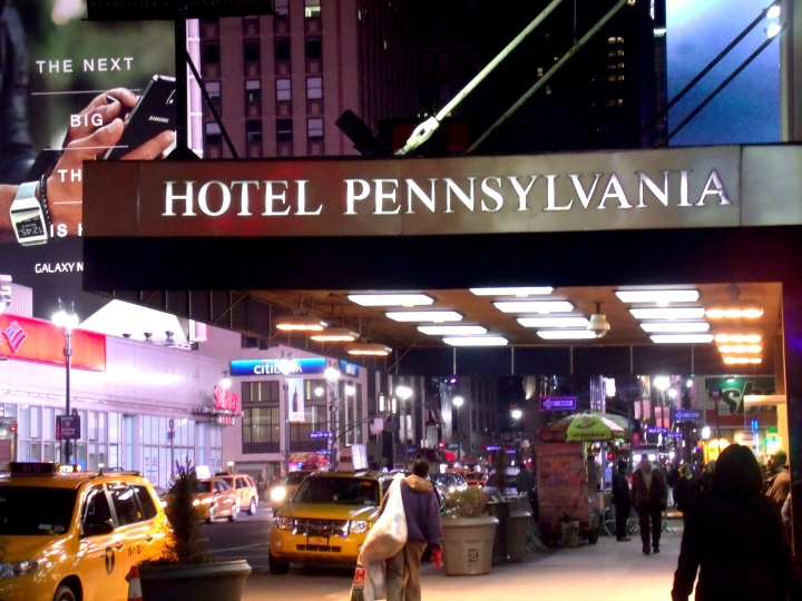 ♫ Welcome to the Hotel Pennsylvania... ♫