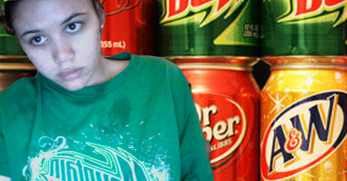 I don't drink soda.