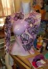 Design work on a broken mannequin