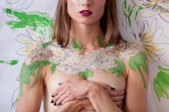 August 2015, super quick session - model: KJ Schel, photographer: Eric Frazer, make-up: Kim Lavalee