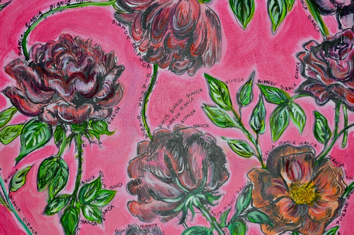 Roses for Bianca by Sarah Samways, 2014.