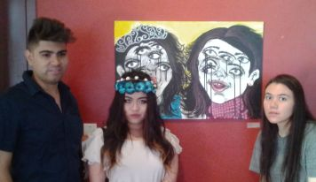 gallery opening_roommates