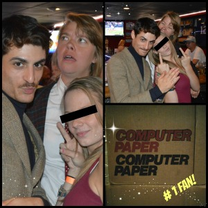 Brian 4 Ever, Computer Computer Paper CEO Amanda Burgess and their #1 Fan